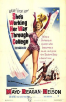 She's Working Her Way Through College 1952 DVD - Virginia Mayo / Ronald Reagan